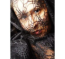 spiderweb Photographic Print