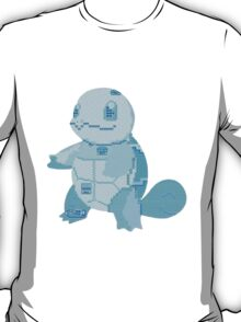 squirtle cool design old school pokemon T-Shirt