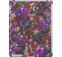 Floral Abstract Stained Glass iPad Case/Skin