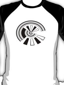 Mandala 15 Back In Black T-Shirt