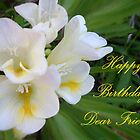 Happy Birthday Dear Friend by TLCGraphics
