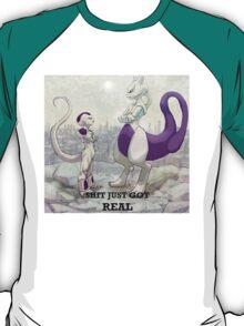 Mewtwo vs Freeza T-Shirt
