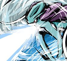 Suicune   Hydro Pump by ishmam