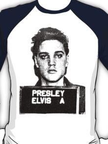 Elvis Mugshot T-Shirt