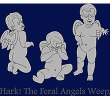 Hark! The Weeping Angels Photographic Print