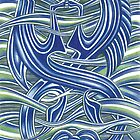 Pictish Seahorses by Deborah Holman
