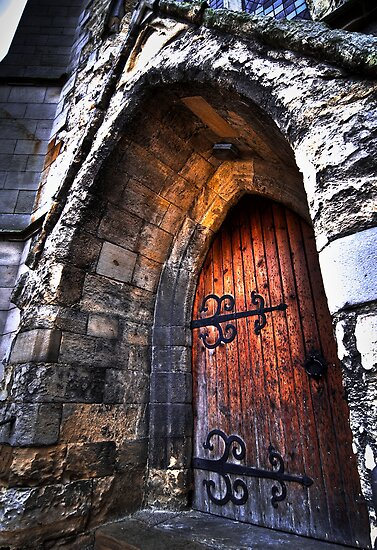 warm welcome in the house of god by Phil Scott