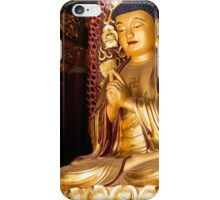 Buddha statue at Big Wild Goose Pagoda in China art photo print iPhone Case/Skin