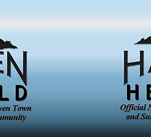 Haven Herald Blue Logo by HavenDesign