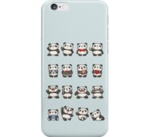 Various feeling of Panda iPhone Case/Skin