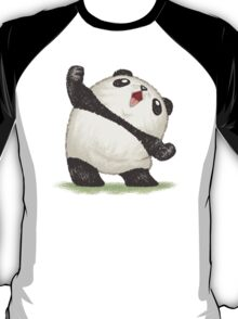 Panda's joy of the victory T-Shirt