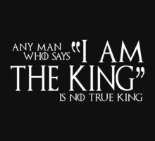 I Am The King Kids Clothes