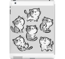 Six Impudent cats iPad Case/Skin