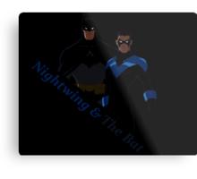 Nightwing and The Bat Metal Print