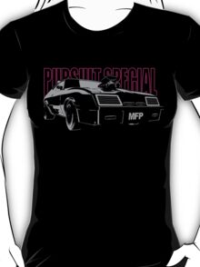 Mad Max Inspired Pursuit Special   Girl Edition - Grey - Pink T-Shirt