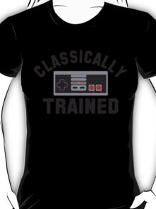 Gamer Nintendo Classically Trained Joystick T-Shirt