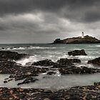 Godrevy Lighthouse Near Hayle, Cornwall. by Peter Bland