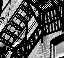 fire escape by PPPhotoArt