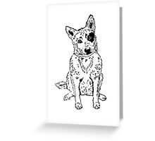 Dawg Greeting Card