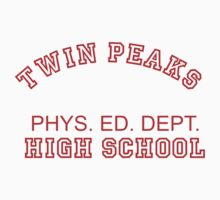 Twin Peaks High School Phys. Ed. Dept. by movieshirt4you