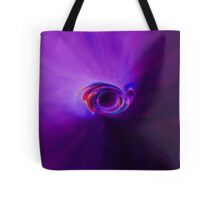 Purple Moon Eaten By Galaxy Tote Bag