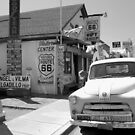 """James Dean on Route 66"" by David Lee Thompson"