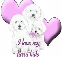 Bichon Love by IowaArtist
