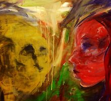 Figurative expressionist painting by brennanartist