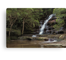 Somersby Falls - Solitude Canvas Print