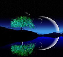 Alone tree by AnnArtshock