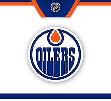 Edmonton Oilers Away Jersey Phone Case by Russ Jericho