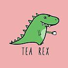 Tea-Rex by Raccoon-god