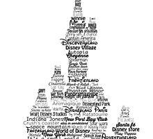 disney paris castle names by mmsh