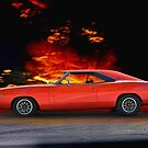 1968 Dodge Charger by DaveKoontz