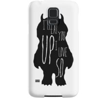 Where the wild things are Samsung Galaxy Case/Skin