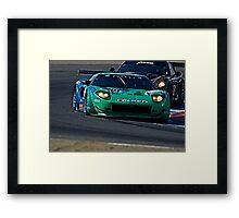 2008 Ford GT 'Tight Turn' Framed Print