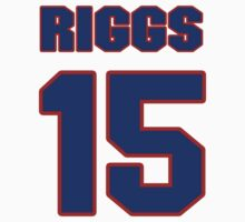 National baseball player Lew Riggs jersey 15 by imsport