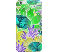 Floral Abstract Artwork iPhone Case/Skin