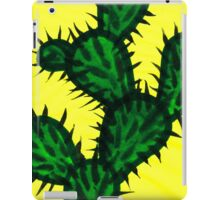Chinese brush painting - Opuntia cactus. iPad Case/Skin
