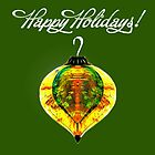 Happy Holidays Card by Penny Marcus