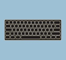 COMPUTER KEYBOARD BLACK by SofiaYoushi