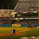 night game at yankee stadium by mikepaulhamus