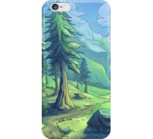Mountains of Adventure iPhone Case/Skin