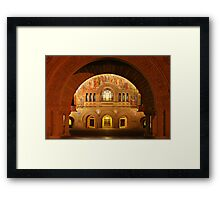 Memorial Church in Stanford Campus Framed Print