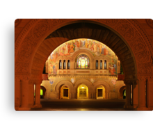 Memorial Church in Stanford Campus Canvas Print