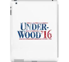 Underwood '16 (distressed style) iPad Case/Skin