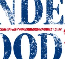 Underwood '16 (distressed style) Sticker