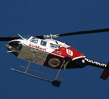 University of Utah - Air Med Helicopter by Ryan Houston