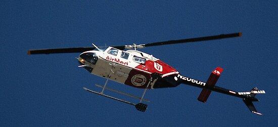University of Utah - Air Med Helicopter by Ryan Houston