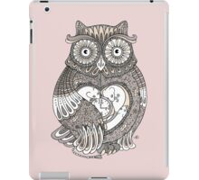 The Timely Owl Tee iPad Case/Skin